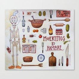 Chef El Flaco  Canvas Print