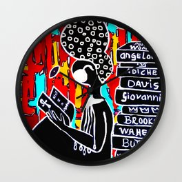 Phenomenal Woman Wall Clock