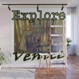 Explore Venice Wall Mural