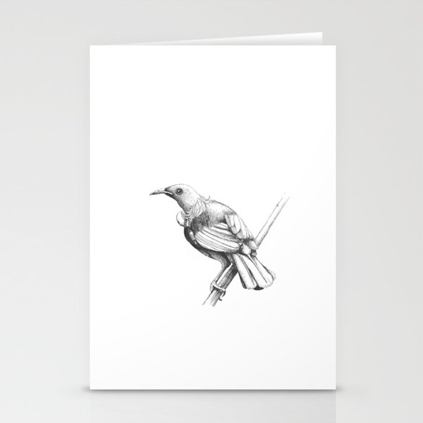 New Zealand Tui Stationery Cards