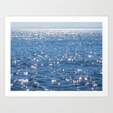 Ocean of Sparkles Art Print