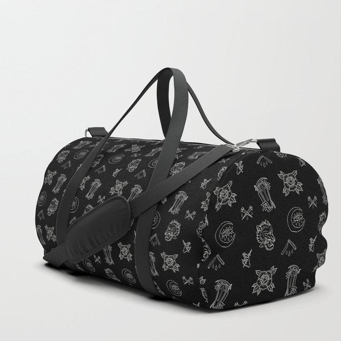 Dark N Old School Duffle Bag