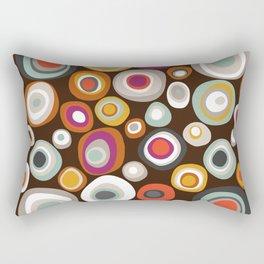 veneto boho spot chocolate Rectangular Pillow
