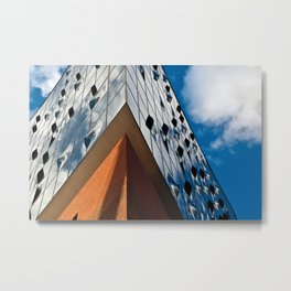 MUSIC SOUND touches the HAMBURG Sky Metal Print