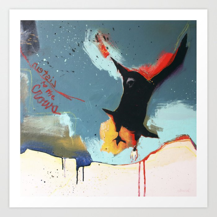 Listen to the Crows #4 Art Print