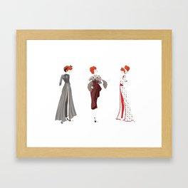 Her Loveliest Things Framed Art Print