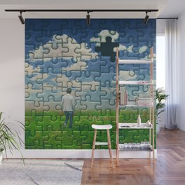 The Misssing Piece Wall Mural