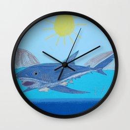 Tag-A-Long Wall Clock