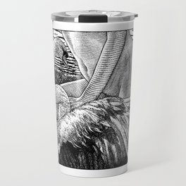 asc 677 - Les ailes du désir (The swain in disguise) Colored version Travel Mug