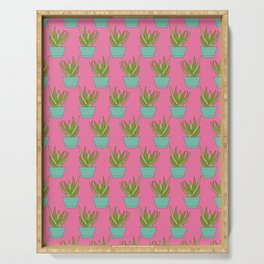 Aloe My Friend | Hot Pink Serving Tray