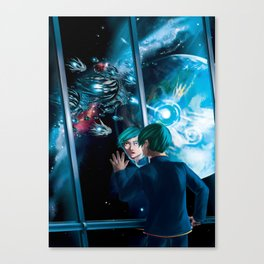 Space opera Canvas Print