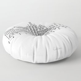 Ghent Floor Pillow