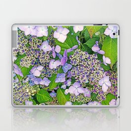 MAGIC LACECAP HYDRANGEA Laptop & iPad Skin
