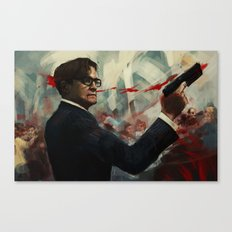 Forgive me Father for I have Sinned  / Kingsman Canvas Print
