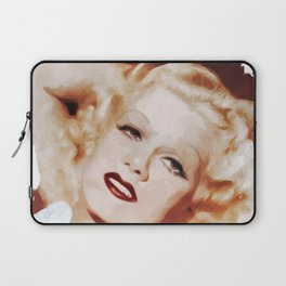 Jean Harlow, Actress Laptop Sleeve