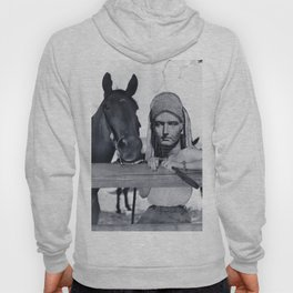 Statue Woman and Her Horse Hoody
