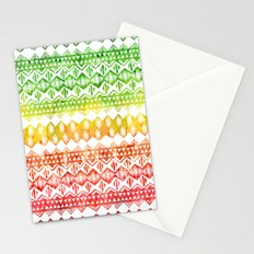 One Love Tribal {white} Stationery Cards