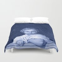 the little prince Duvet Covers featuring Little Prince by VINSPIRO