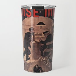 Old sign / La misere Louise Michel Travel Mug