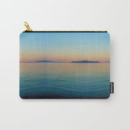 Sunset Greek Island Carry-All Pouch