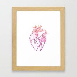 Designer Heart Framed Art Print