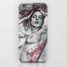 Remembering Days Of Yore: Wine iPhone Case