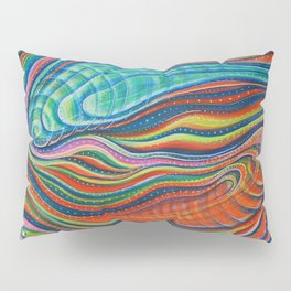 Koi Dance in Three Dimensions Pillow Sham