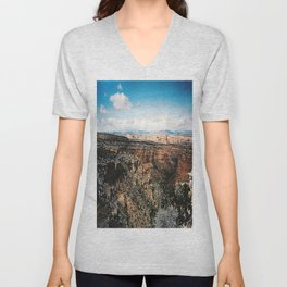 Overlooking Unisex V-Neck