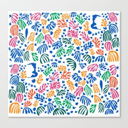 Matisse Colorful Pattern #1 Canvas Print