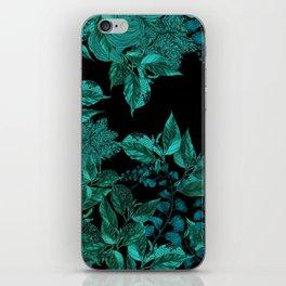 Dark Forest (Emerald / Black) iPhone Skin