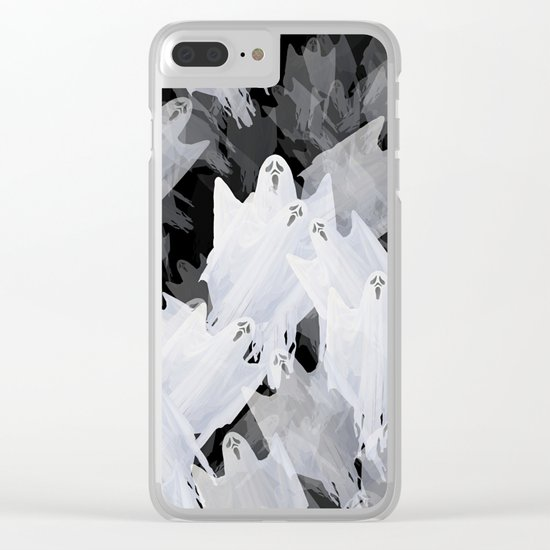 Ghostly! Clear iPhone Case