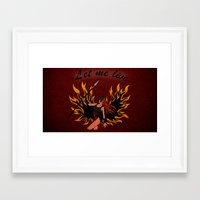 resident evil Framed Art Prints featuring Resident Evil Claire Redfield Jacket by KeenaKorn