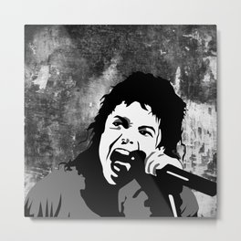 legend Music Metal Print
