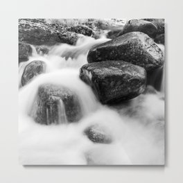 Wild river Metal Print