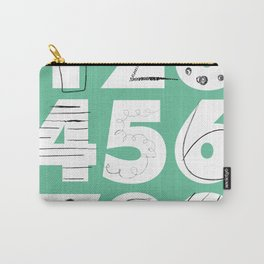Funky Numbers Carry-All Pouch