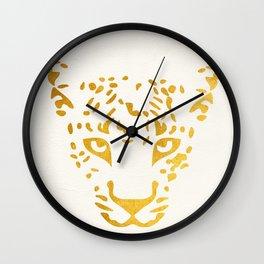 LEO FACE Wall Clock