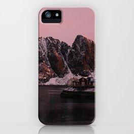 Sunrise in Lofoten iPhone Case