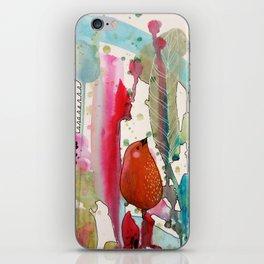 jouons aux bois iPhone Skin