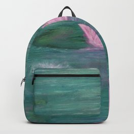 Water Lily Pond Backpack
