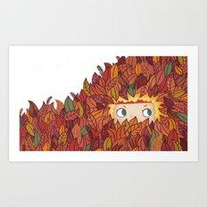 Little rascal Art Print