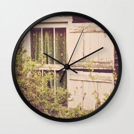 Antique Window Wall Clock