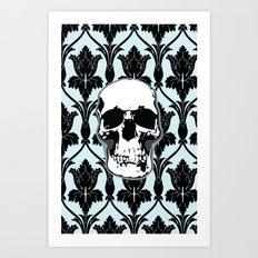 Skull Print Art Print