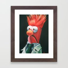 Meep! Framed Art Print