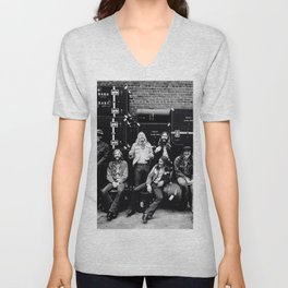 At Fillmore East (Live) 1971 by The Allman Brothers Band - Vectorized Unisex V-Neck
