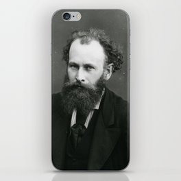 Portrait of Manet by Nadar iPhone Skin