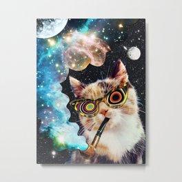 High Cat Metal Print