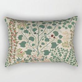 Leaf Quilt Rectangular Pillow
