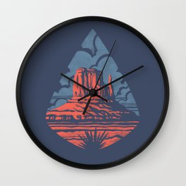 Monument Valley Wall Clock