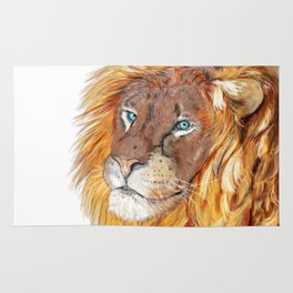 Colourful Lion Rug