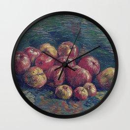 Vincent Van Gogh - Still Life with Apples Wall Clock